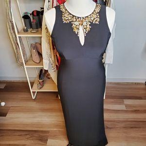 Vince Camuto Black Cocktail Dress